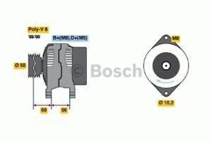 BOSCH Lichtmaschine Generator LiMa ohne Pfand für Fahrzeuge ohne Klimaanlage