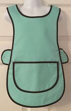 Wholesale Job Lot 10 Brand New Kids Childrens Tabards Aprons Mint Green Clothes