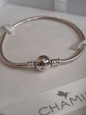 *SALE* Genuine CHAMILIA 925 Silver DISNEY Snake Chain BRACELET Medium 7.5in