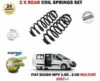 FOR FIAT SCUDO MPV 1.6D 2.0D MULTIJET 270 272 2007->NEW 2 x REAR COIL SPRING SET