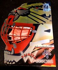 JOHN VANBIESBROUCK 1996-97 Donruss Elite PAINTED WARRIORS Die-Cut Card #d /2500