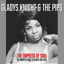 Gladys Knight & The Pips - Empress Of Soul - 30 Smooth Soul Classics (2CD) NEW