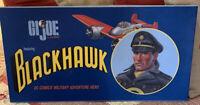 "2002 Hasbro 12"" GI JOE BLACKHAWK DC Comics Military Adventure Hero Set  1/2000"