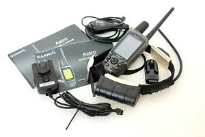 Garmin Astro 220 DC30 Dog GPS Tracking System - Excellent Condition w/ Chargers