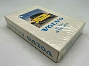 VOLVO 50 YEARS OF INNOVATION PLAYING CARDS - CAR SWEDEN SWEDISH FIFTY