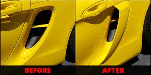 Porsche 981 Boxster Cayman 2013-16 Side Air Scoop Vents LETTERS GT4 GTS 981 S