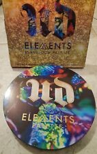 NEW Genuine Urban Decay ELEMENTS Eyeshadow Palette 19 Shade Air Earth Fire Water