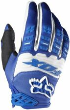 Fox Head Men's Dirtpaw Race Gloves MTB MTX Black White Blue NEW AUTHENTIC BLUE