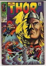 Thor 158 - FN/VF - Off-White Pages - Reprints Journey Into Mystery 83!!