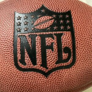 Vtg Official Duke Throwback NFL Game Football by Wilson Signed Paul Tagliabue