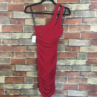 Windsor Women's SIze 3 Red One Shoulder Mini Cockatil Dress NWT