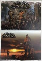 Asmodee Conan Conan Board Game (Kickstarter Ed) - King Level Pledge VG+