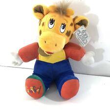 """Vintage 1993 Geoffrey Giraffe Toys R Us Plush Toy Soft Classics 15""""  w/ Tags"""