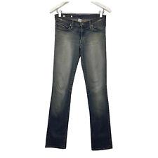 Nobody Womens Jeans Size 10 Blue Distressed Denim