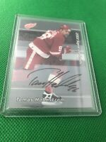 2002 In The Game Signature Series Tomas Holmstrom Auto Autograph Red Wings SP