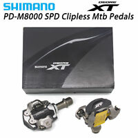 Shimano Deore XT PD-M8000 SPD Clipless Pedal With SH51 Cleats