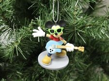 """Mickey Mouse """"Rock n' Roll"""" Band, Disney Christmas Ornament"""