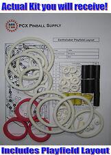 1989 Williams Earthshaker Pinball Machine Rubber Ring Kit