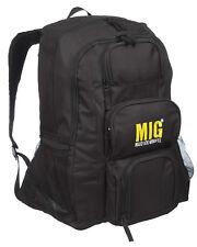 Mens Large Rucksack Backpack Bag FISHING TRAVEL HIKING CAMPING SPORTS  BLACK 237