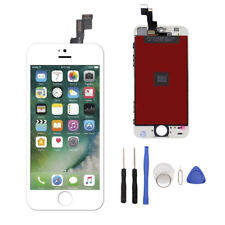 Full Set LCD Touch Screen Digitizer Assembly Replacement for iPhone 5S White