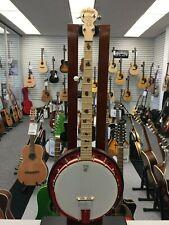 Deering Zombie Killer 5 String Banjo - Red