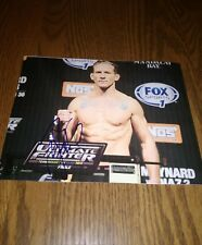 Gray Maynard UFC Ultimate Fighter Mixed Martial Artist Signed 8x10 Photo MMA