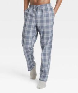 Goodfellow & Co™ ~ Men's MEDIUM ~ Blue Plaid ~ Cotton ~ Sleepwear/Pajama Pants
