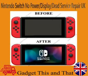 Nintendo Switch No Power / No Display / Dead Service Repair UK