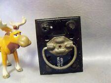General Switch 30 Amp Vintage Fuse Holder Pull Out Lid Split Bar