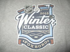BOSTON BRUINS 2016 Winter Classic GILLETTE STADIUM (XL) Shirt MONTREAL CANADIENS