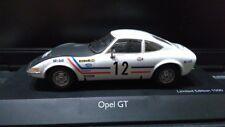 1/43 Opel GT 1969 Greder Racing Rally #12  Schuco 05536