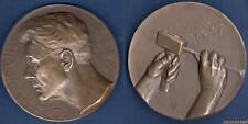 Médaille - Toon Dupuis 18 Februrari 1937 - 109 Grammes  Bronze