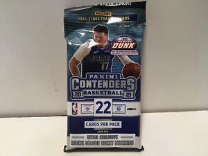 2020-21 Panini Contenders NBA 22 Card Value Pack Rookie Season Ticket Sticker
