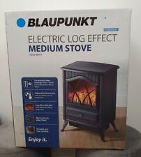 1850w Blaupunkt Electric Log Effect Medium Stove Heater Fireplace/2 Heat Setting