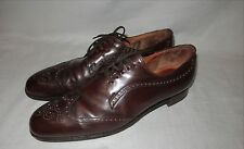 Church's Diplomat Custom Grade Brogue Cap Toe Oxfords England Size 12 Wing Tip