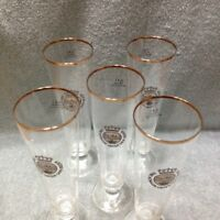 Warfteiner Premium Verum Pilsner German Bar Glasses Set Of 5