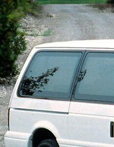 1991 92 93 94 95 Dodge Caravan/Voyager Passenger Rear Quarter Panel Glass