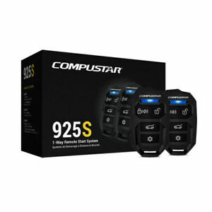 Compustar CS-925S 1-Way Remote Start System W/Keyless 2-4 Button Remotes 1500ft