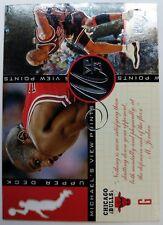 Michael Jordan 96 97 Upper Deck Jordans View Points #VP8 *Rare* Die Cut Insert