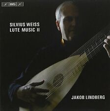 J.Lindberg - Weiss: Lute Music Ii [CD]