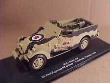 Eaglemoss #EM023 1/43 Diecast M3A1 Scout Car, New Zealand Artillery, Tunisia '43