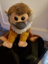 Wild Republic Squirrel Monkey Plush, Stuffed Animal, Plush Toy, Gifts for Kids