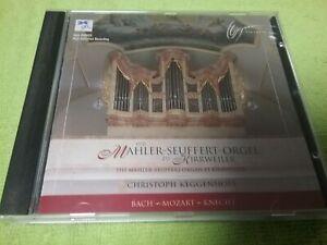 Mahler Seuffert Orgel - CD Organ Orgue RAR - Bach - Mozart - Knecht - ORGANUM