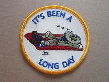 It's Been A Long Day Cloth Patch Badge Boy Scouts Scouting L4K C