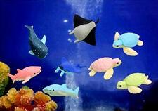 IWAKO JAPANESE ERASERS Pick Up Set / Sea Animals (No.2) - 8pcs