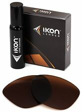 Polarized IKON Replacement Lenses For Oakley Frogskins LX Sunglasses - Bronze