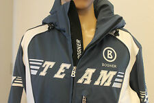 Bogner Breeze Team KEANO T Uomo Sci Giacca Blu Bianco Taglia 50, ml UVP 1400 EURO