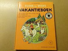 STRIP / SUSKE EN WISKE: VAKANTIEBOEK 4 | 1ste druk