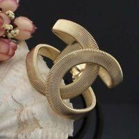 Alloy Wide Spring Cuff Bracelet Bangles Statement Women Jewelry Fashion 1pc