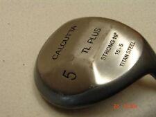 *Calcutta TL Plus Strong 19* #5 Fairway Wood Right Hand 15-5 Titan Steel Men's